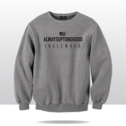 A.U.T.N.G CITY ANTHEM CREWNECK (grey/blk)