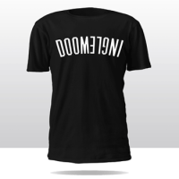 DOOMLIFE CREW TEE (black/white)