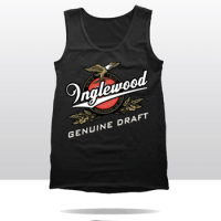 IGD BEER LABEL TANK TOP (black)