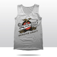 IGD BEER LABEL TANK TOP (white)