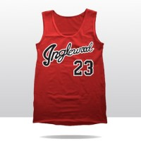ING_23 MJ RETRO TANK  (fire red)