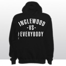 INGLEWOOD Vs EVERYBODY HOODED SWEATSHIRT (black)
