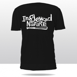 INGLEWOOD BY NATURE CREW TEE (black)