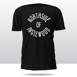 WE THE NORTH TEE (blk/white)