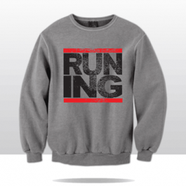 RUN-INGLEWOOD CITY CREWNECK (grey)