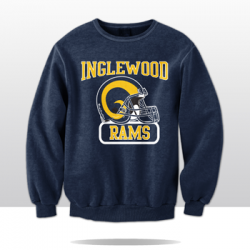 RAMS OF INGLES CREWNECK SWEATSHIRT (navy/yellow)