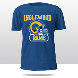 RAMS OF INGLES RETRO TEE (blue/yellow)