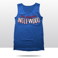THE AMAZING INGLEWOOD COMIC TANK TOP (blue)
