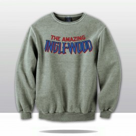 THE AMAZING INGLEWOOD COMIC CREWNECK (grey/blue/red)