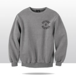 WE THE NORTH CREWNECK (grey/black)